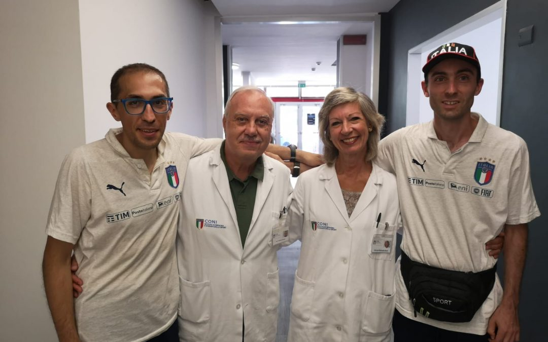 "Training on the field and monitoring for Nazionale Italiana ""Crazy For Football"""