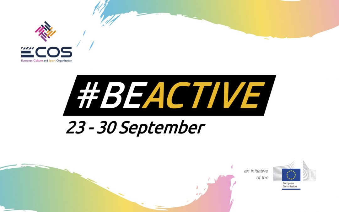 #BeActive: ECOS will be partner of the European Week of Sport