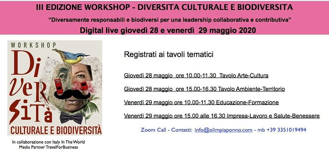"""ECOS Mind e la Nazionale """"Crazy For Football"""" al Workshop """"Diversità Culturale e Biodiversità"""""""